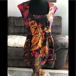 French Connection multi color dress
